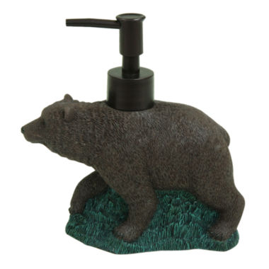jcpenney.com | Bacova Guild Discover The Wild Bear Soap Dispenser