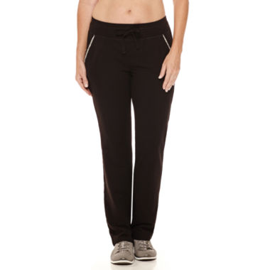 jcpenney.com | Made For Life French Terry Workout Pants Petites