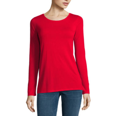 jcpenney.com | Stylus™ Long-Sleeve Top