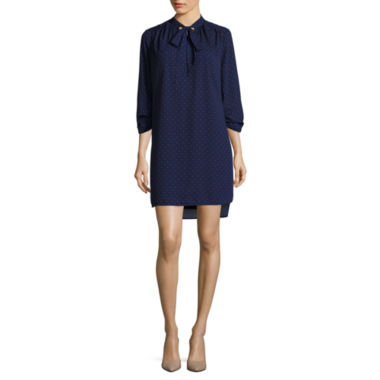 jcpenney.com | Stylus™ Long-Sleeve Tie-Front Dress