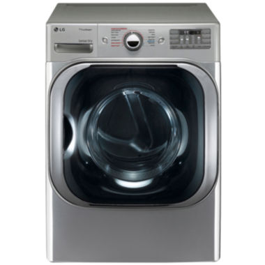 jcpenney.com | LG 9.0 cu.ft. Mega-Capacity Electric SteamDryer™ with SteamFresh™ Cycle