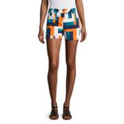Stylus™ Twill Cotton Shorts - Tall