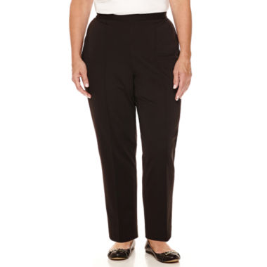 jcpenney.com | Alfred Dunner® Madison Park Slim Pants - Plus