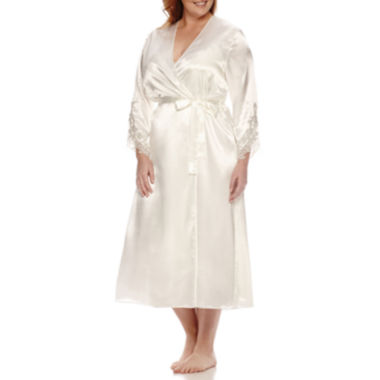 jcpenney.com | Flora Stella Charmeuse Robe - Plus
