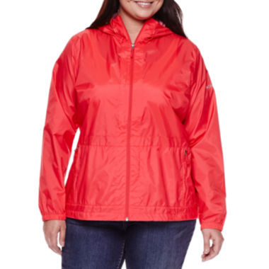 jcpenney.com | Columbia® Rain to Fame™ Rain Jacket - Plus