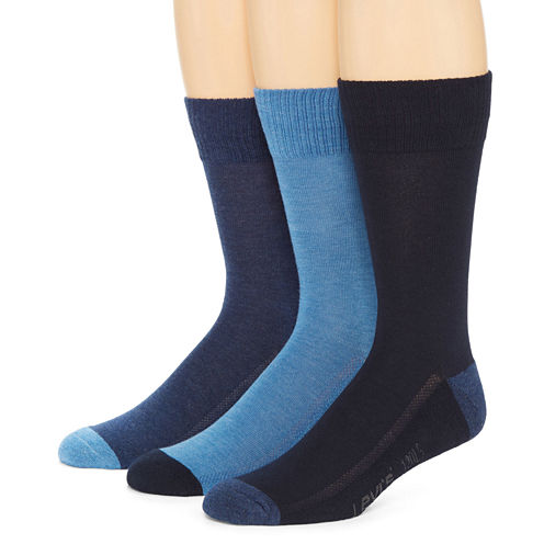 Levi's® 3-pk. Cushioned Crew Socks