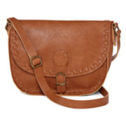 T-Shirt and Jeans™ Flap Crossbody Bag