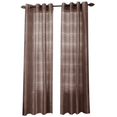 jcpenney.com | Maggie Grommet-Top Curtain Panel
