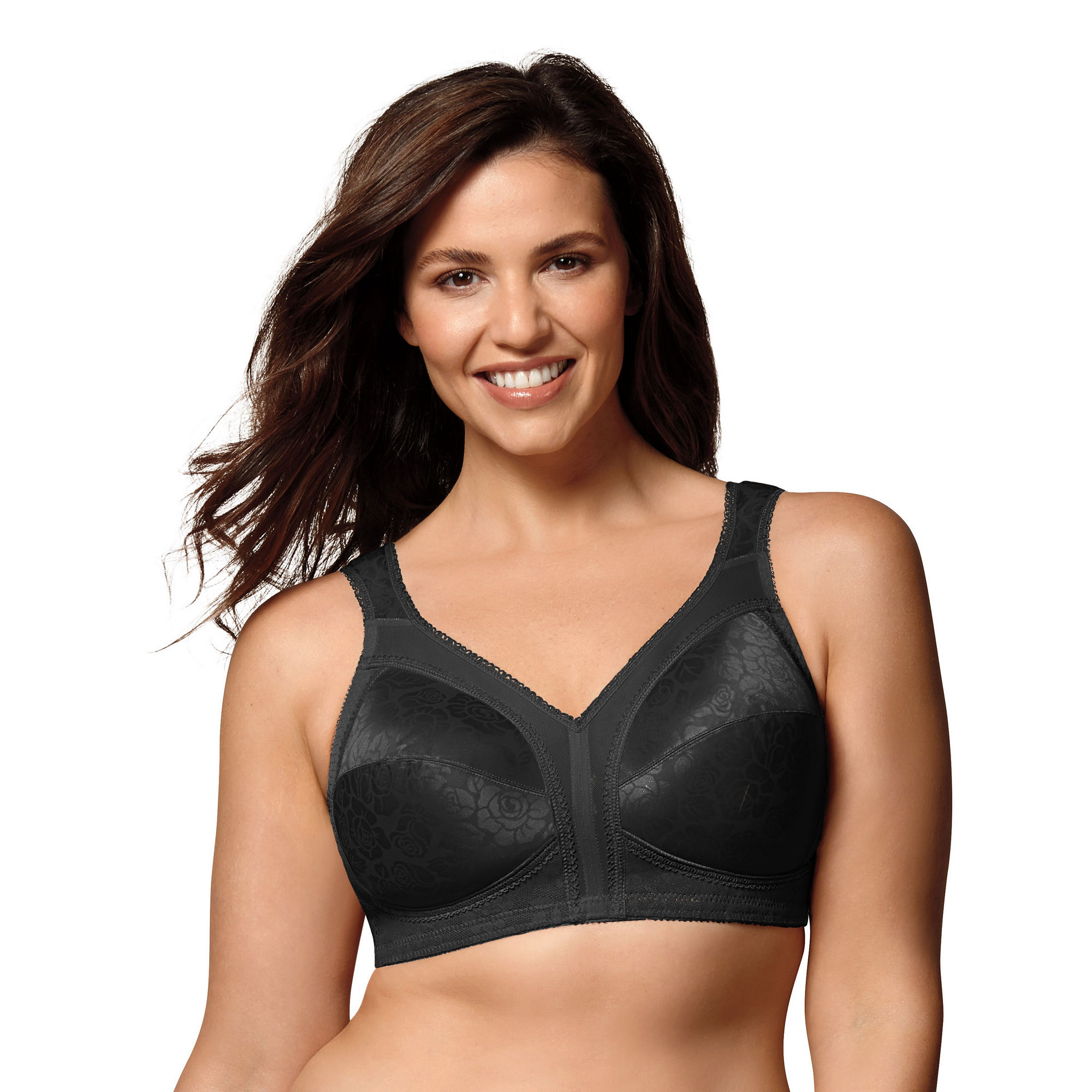 Playtex 18 Hour Comfort Strap Bra - 4693 plus size,  plus size fashion plus size appare