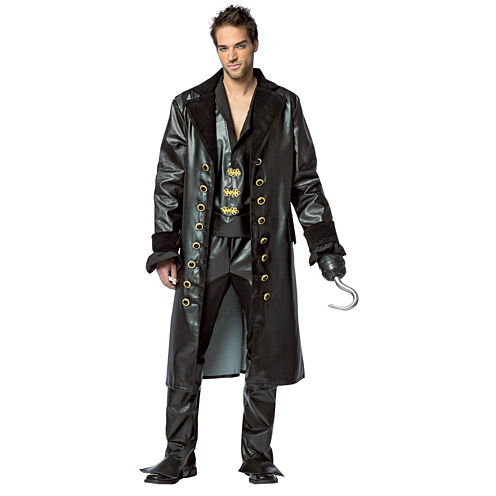 Once Upon A Time Mens Hook Deluxe Costume - L
