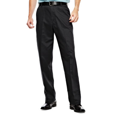 jcpenney.com | IZOD® Wrinkle–Resistant Flat–Front Twill Pants–Big & Tall
