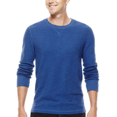 jcpenney.com | Arizona Solid Long-Sleeve Thermal Tee