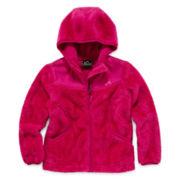 Vertical 9 Fleece Hooded Jacket - Preschool Girls 4-6x