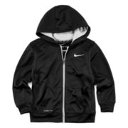 Nike® Therma-FIT Zip-Front Fleece Hoodie - Preschool Boys 4-7