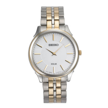 jcpenney.com | Seiko Mens Two Tone Bracelet Watch-Sup864