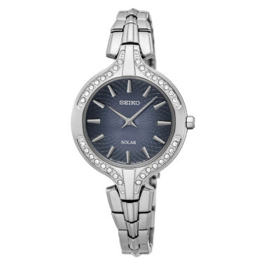 jcpenney.com | Seiko Womens Silver Tone Bracelet Watch-Sup345