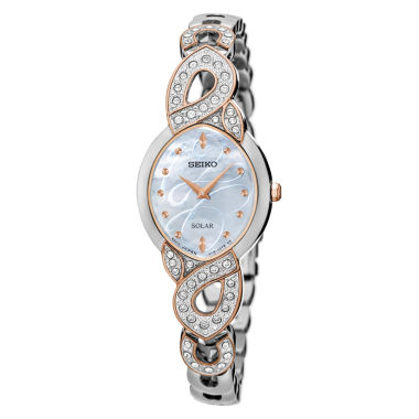 jcpenney.com | Seiko Womens Two Tone Bracelet Watch-Sup340