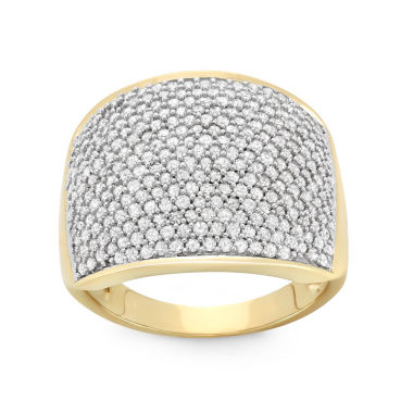jcpenney.com | 1 1/2 CT. T.W. White Diamond 10K Gold Cocktail Ring