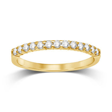 jcpenney.com | Womens 1/4 CT. T.W. White Diamond 14K Gold Wedding Band