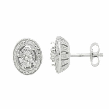 jcpenney.com | 1/10 CT. T.W. Round White Diamond Sterling Silver Stud Earrings
