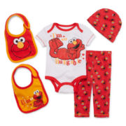 5-pc. Elmo Clothing Set - Baby Boys newborn-24m