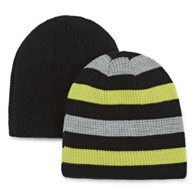 jcpenney.com | 2-pk. Sherpa-Lined Beanies - Boys 8-20