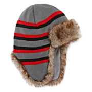 Charcoal Trapper Hat - Boys 8-20