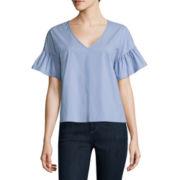 BELLE + SKY™ Elbow-Sleeve Shirt