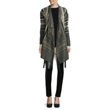 jcpenney.com | i jeans by Buffalo Plaid Jacket, Cap-Sleeve Tee or Faux-Leather-Front Leggings