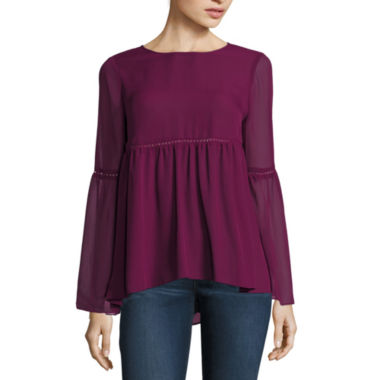 jcpenney.com | Stylus™ Bell-Sleeve Blouse