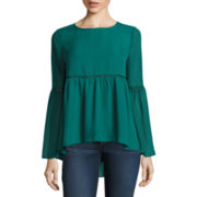 Stylus™ Long Bell-Sleeve Blouse