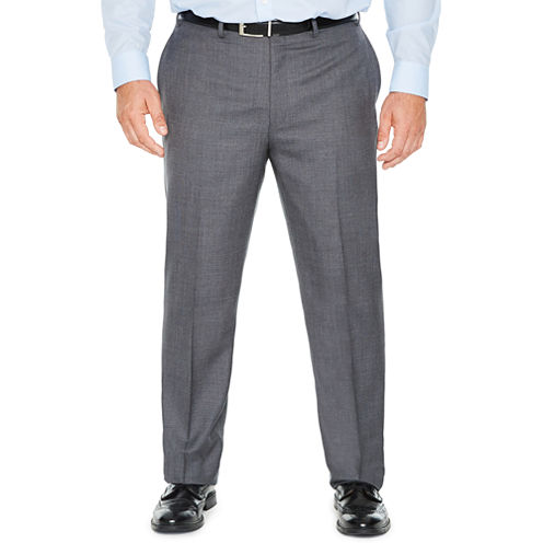 Collection by Michael Strahan  Classic Fit Woven Suit Pants - Big and Tall