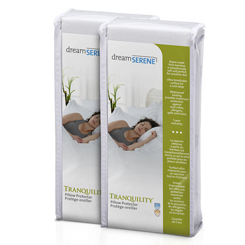 Dreamserene Tranquility Waterproof Pillow Protector