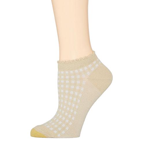 Gold Toe® Mini Gingham Low-Cut Socks