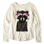 Arizona Long-Sleeve Graphic Tee - Girls 6-16 and Plus