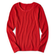 Arizona Long-Sleeve Thermal Tee- Girls 6-16 and Plus
