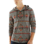 Arizona Hooded Henley