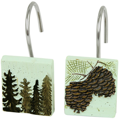 Bacova Westlake Shower Curtain Hooks