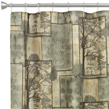jcpenney.com | Bacova Natures Elements Shower Curtain