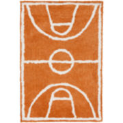 Carter Hand-Tufted Basketball Rectangular Rugs