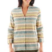 Alfred Dunner® Ann Arbor 3/4-Sleeve Textured Blouse