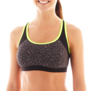 Xersion™ Print Keyhole-Back Medium Support Sports Bra