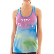 Xersion™ Graphic Racerback Tank Top - Petite