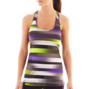 Xersion™ Striped Racerback Singlet Tank Top
