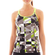 Xersion™ Print Crossback Tank Top