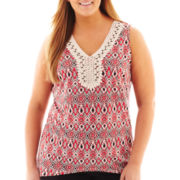 Alyx® Crochet Tank Top - Plus