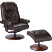 Chace 2-pc. Recliner and Ottoman Set