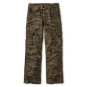 Arizona Belted Cargo Pants - Boys 6-18 Husky