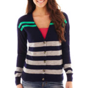 Arizona Long-Sleeve Striped Boyfriend Cardigan