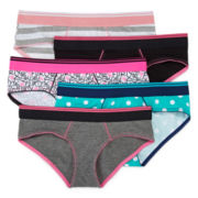 Flirtitude® 5-pk. Boykini Panties